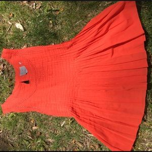 Vanessavirginia by Anthropologie orange tank